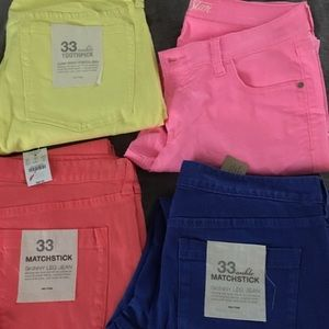 Colorful Jeans Old Navy & JCrew
